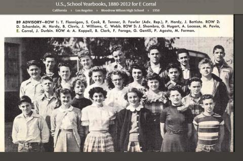 Ernesto Corral HS Class 1950